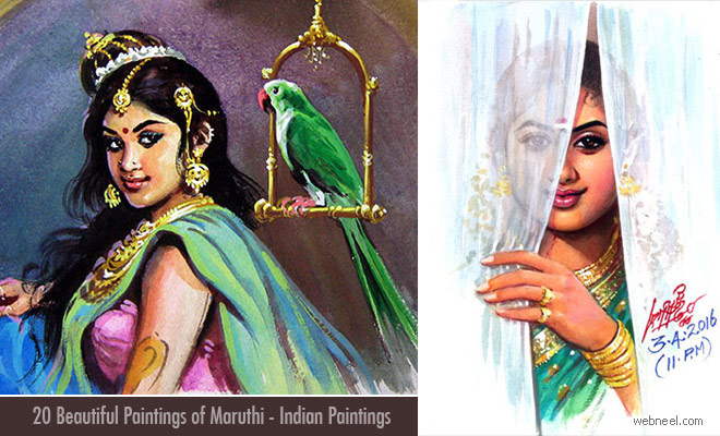 Tamil nadu Paintings by Maruthi