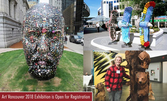 International Vancouver Art Exhibition and Contest - 19 April 2018