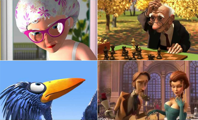 14 Best 3D Animation & Short Film Video Collection