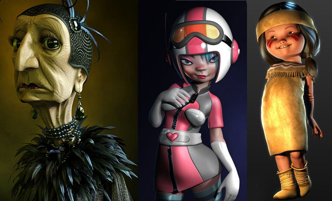 25 Amazing 3D Character Designs for your inspiration