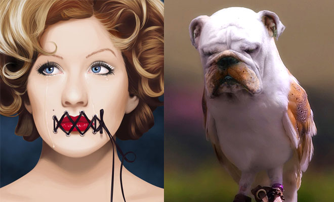 25 Creative Photo Manipulation works done by Photoshop - Awesome collection