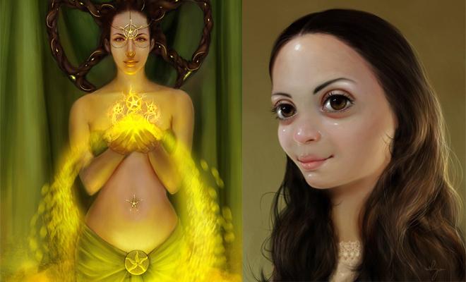 25 Beautiful Art works and Digital Paintings by Shreya-Shetty