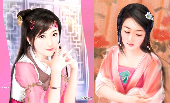 20 Most Beautiful Chinese Woman Paintings around the world
