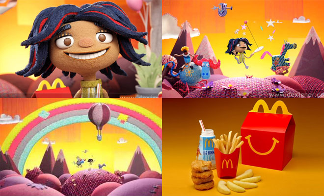 New McDonald's Campaign - 3D Animated TV Commercials