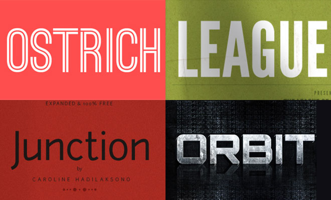 15 Professional Fonts for Web & Graphic Designers