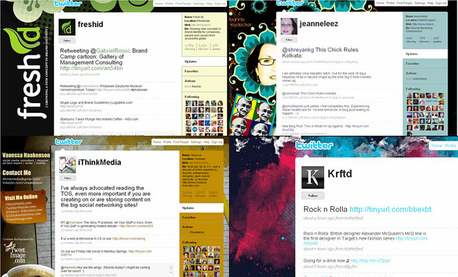 Another 25 Beautiful Twitter Themes for your inspiration