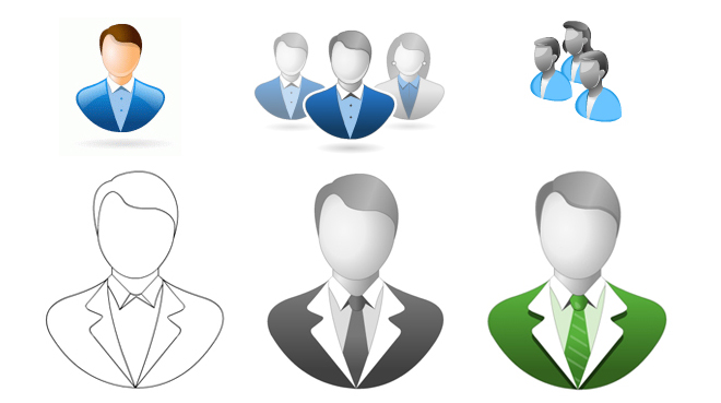 Tutorial - How to create a User Avatar Icon in Vector