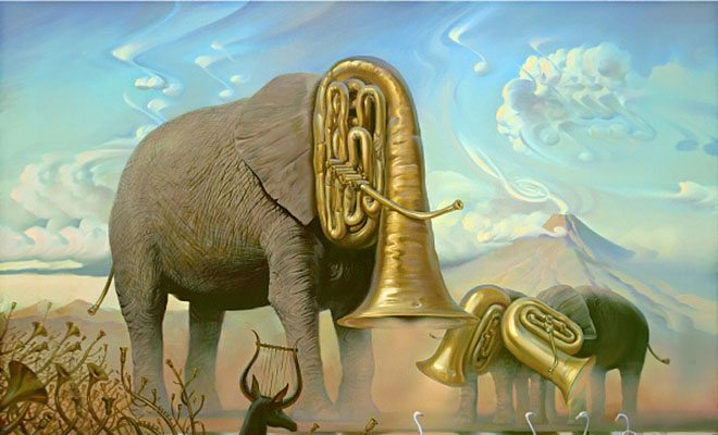 35 Surreal and Creative Oil Paintings by Artist Vladimir Kush