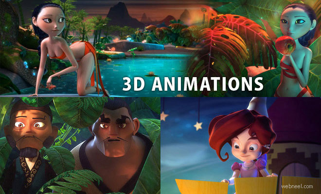 11 Beautiful 3D Animations and 3D Short films for your inspriation