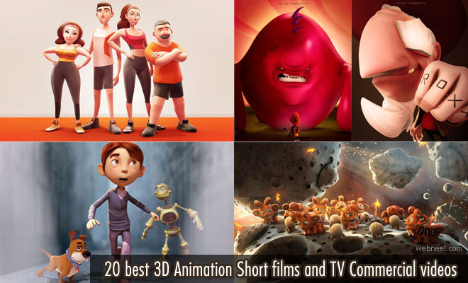 18 Best 3D Animations and 3D Animated TV Commercials for your inspiration