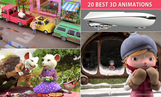 20 Best 3D Animated Short Films and TV Commercial Videos