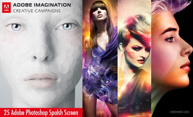25 Creative Adobe Photoshop Splash Screen Designs from International campaign