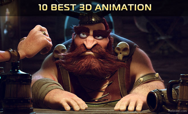 10 Best 3D Animation Short films, TV Commercials and Motion Graphics videos