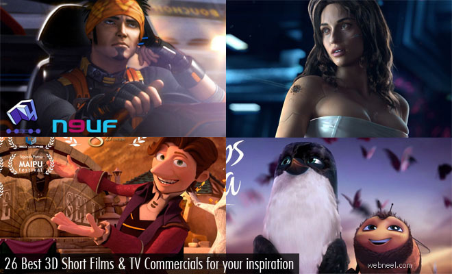 26 Best 3D Animated Short Films and TV Commercials for your inspiration