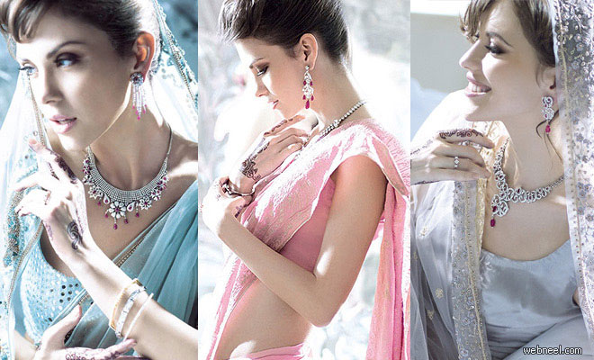 22 Beautiful Metro Bride Photographs from Tanishq Metro Bride Ad Gallery