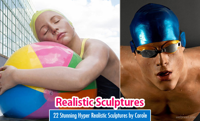 22 Stunning Hyper Realistic Sculptures by Carole Feuerman - World Famous Sculptor