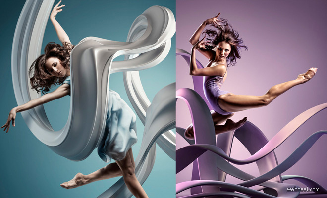 Frozen Dancers in Air - Inspiring 3D Sculptures that represents their motion and style
