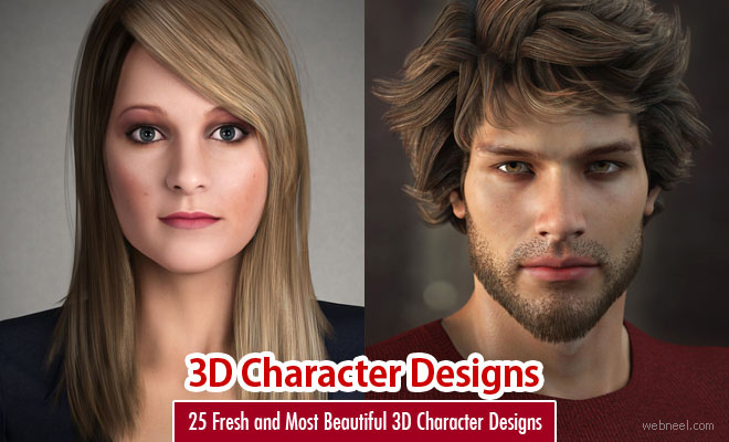 25 Fresh and Most Beautiful 3D Character Designs for your inspiration