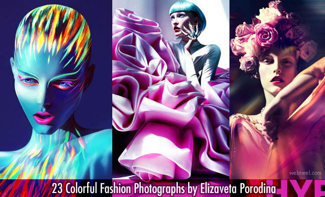 23 Colorful Fashion Photographs by Elizaveta Porodina - Colorful and Modern