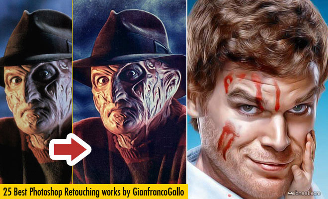30 Best Photo Retouching Master Pieces by Gianfranco Gallo - After Before Photos