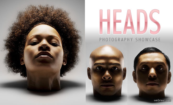 16 Head Photographs - Awesome Photography showcase by Andy Barter