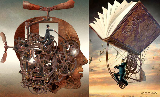 25 Stunning Surreal Illustrations and Creative Photo Manipulation by Igor Morski