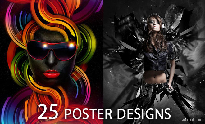 50 Creative and Beautiful Poster Design examples for your inspiration