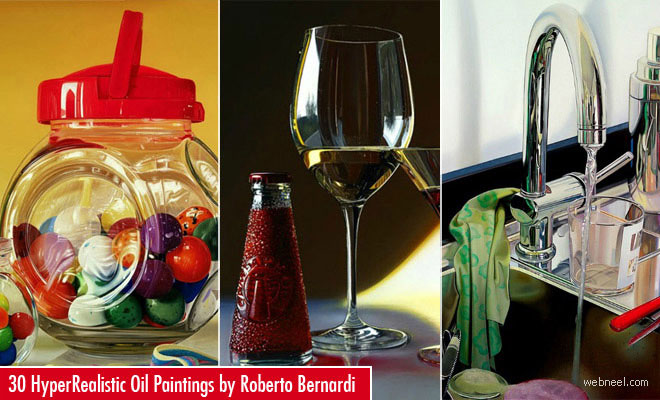 30 HyperRealistic and Mind-Blowing Oil Paintings by Roberto Bernardi