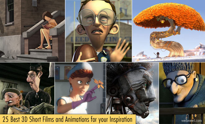 25 Best and Award Winning 3D Animated Short Films for your Inspiration