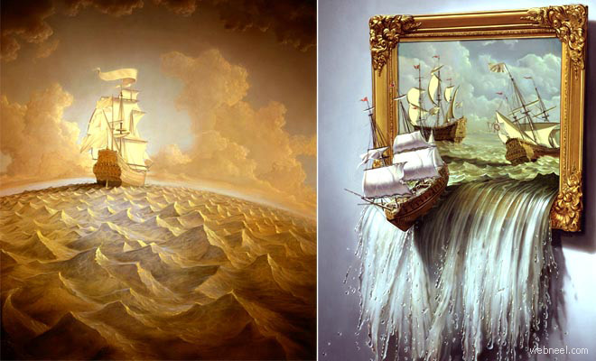 21 MindBlowing Surreal Paintings and Creative Illustrations by Tim OBrien