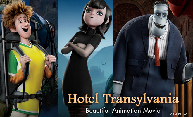 20 Character Designs, Reviews and Videos from Hotel Transylvania - A Beautiful 3D Animation Movie
