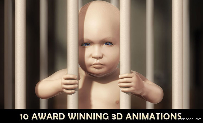 10 Award Winning and Beautiful 3D Animation Videos and TV Commercials