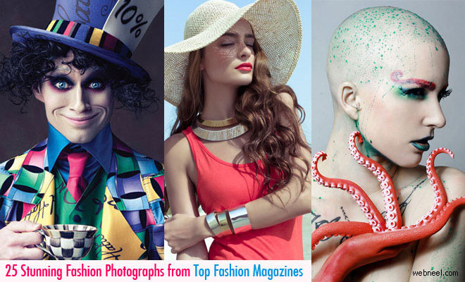 25 Stunning and Creative Fashion Photography from Top Fashion Magazines