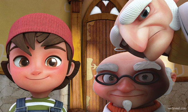 Beautiful 3D Animated Short Film - Zac and Penny