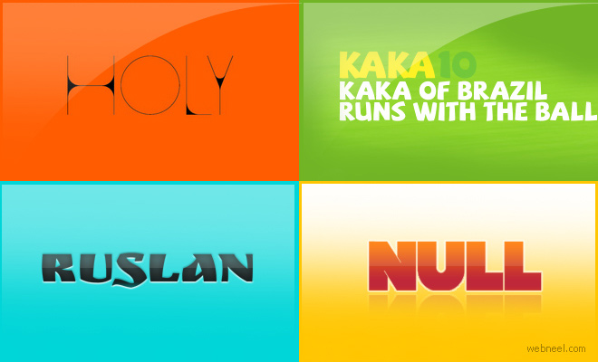 20 Free Professional Fonts for Graphic and Web Designers - Download now