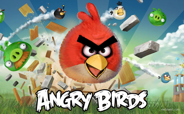 Character inspirations from Angry Birds Game