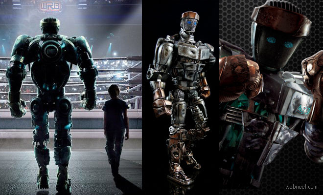 Real Steel - Fantastic 3D Animation Movie from Digital Domain