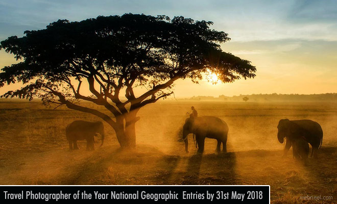 National Geographic Travel Photographer of the Year 2018 - entries by 31 May
