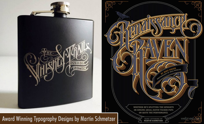 Award winning creative Typography Designs by Martin Schmetzer