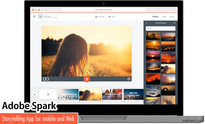 Upgraded Adobe Spark App Converts Your Photos Into Video