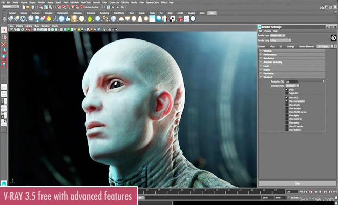 V-Ray 3.5 for Maya is out now with adaptive lighting and more new features
