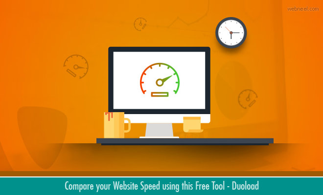 Compare your Website Speed using this Free Tool - Duoload