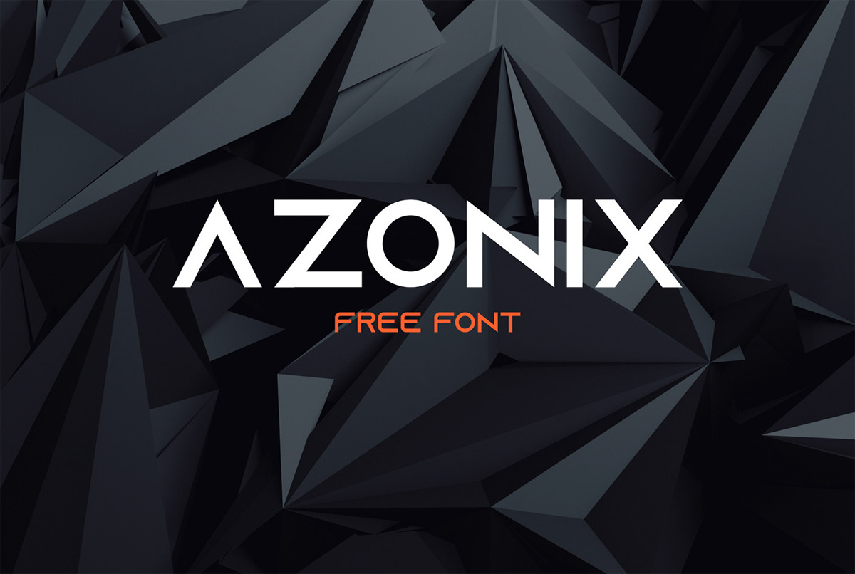 Download Free font   Azonix