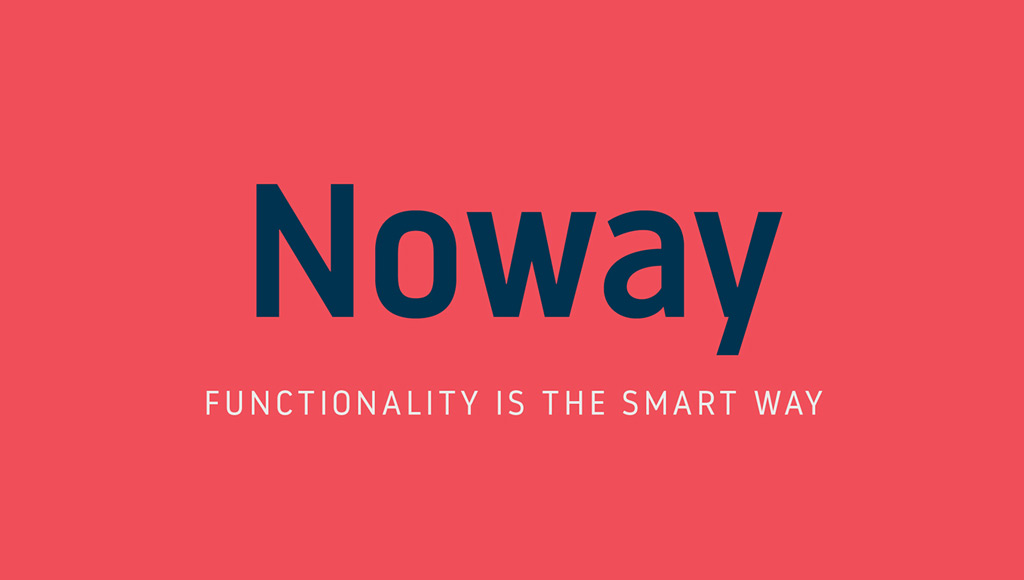 Free Font   Noway
