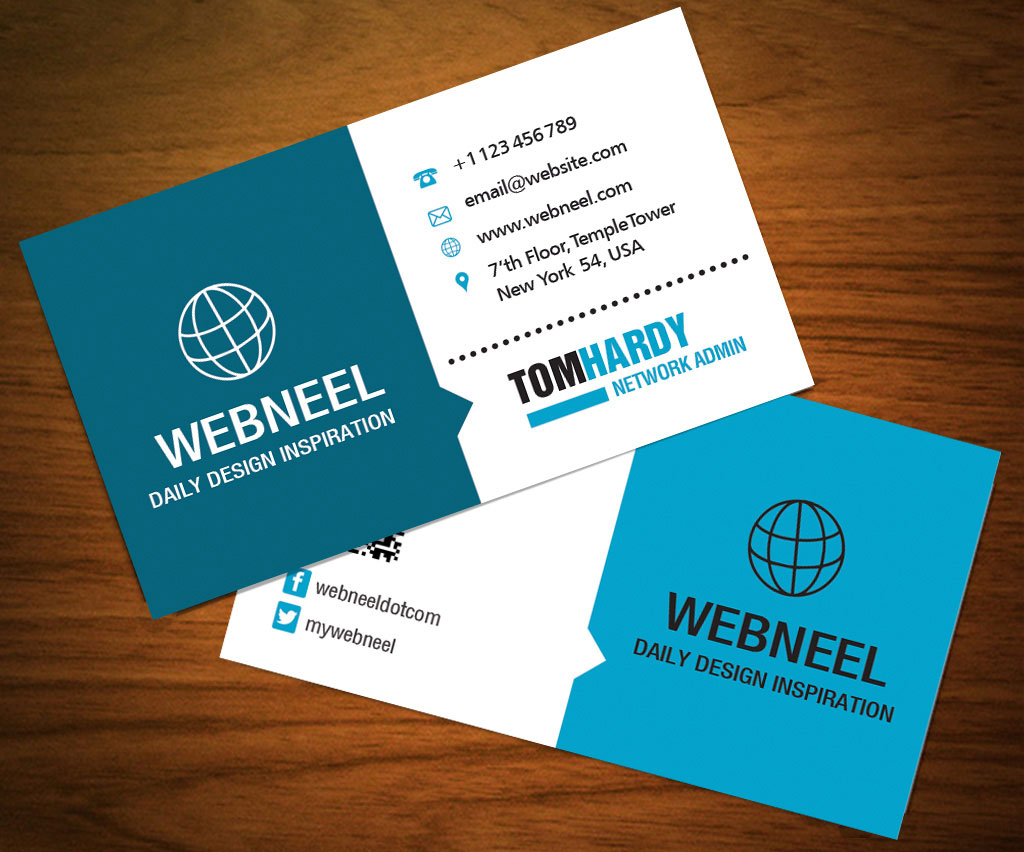 23 Modern business card template - Freedownload Printing ...