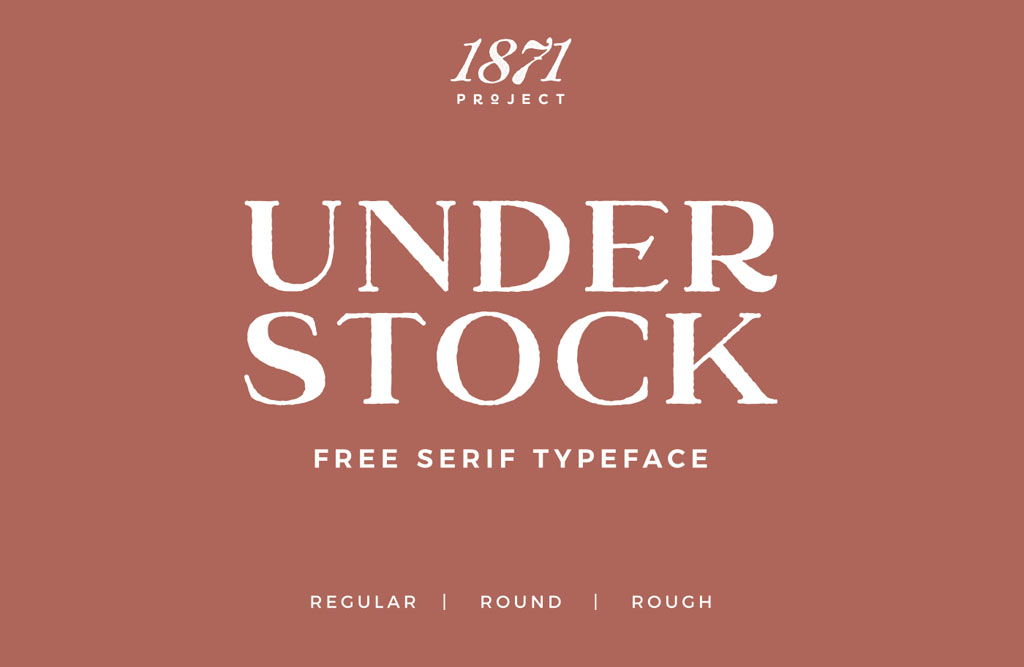 Free font understock