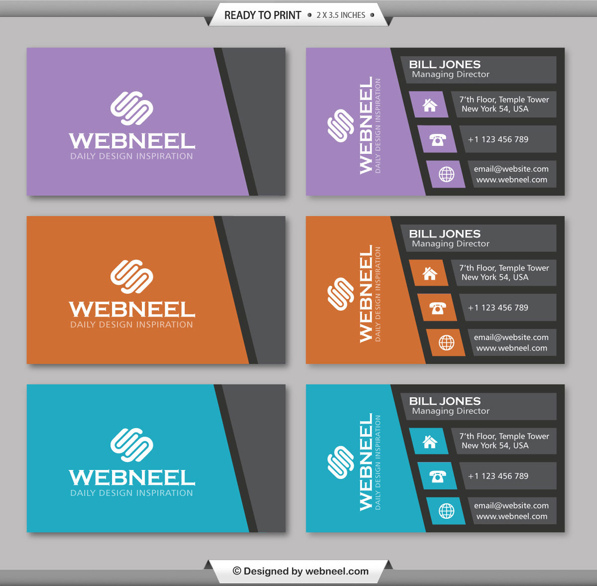 30 Modern Business Card Template Free Download