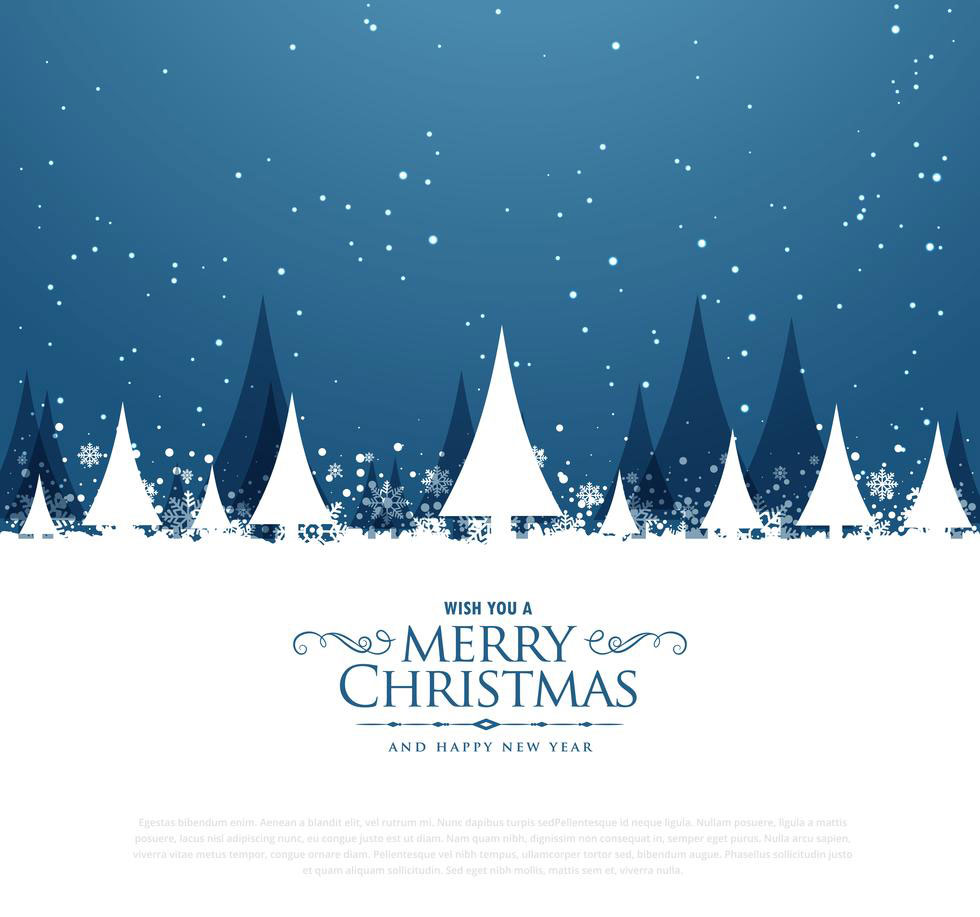5 free christmas greeting vector download AI