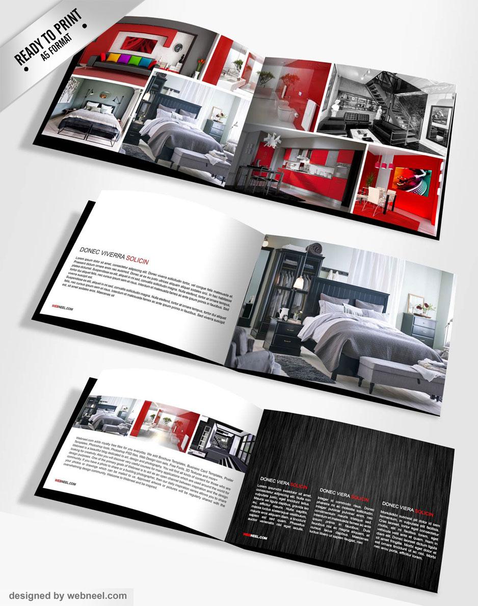 Landscape Brochure Templates design 5