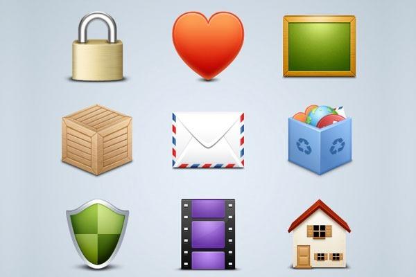 50 free high quality icons